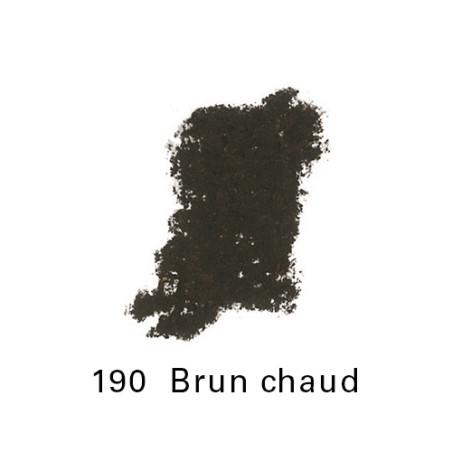 SENNELIER PASTEL ECU GRAND 190 brun chaud