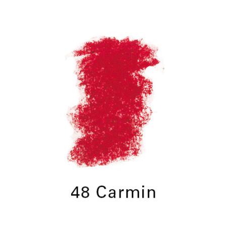 SEN PASTEL ECU PETIT 48 CARMIN