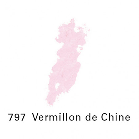 SEN PASTEL ECU PETIT 797VERMILLON CHINE NO 8
