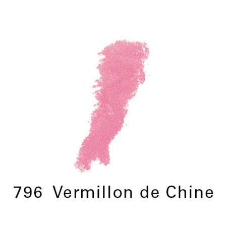 SEN PASTEL ECU PETIT 796 VERMILLON CHINE NO 7