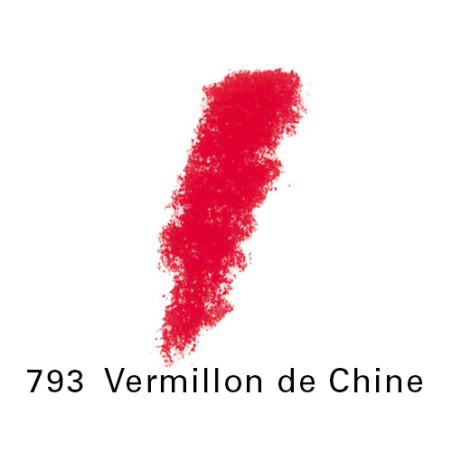 SEN PASTEL ECU PETIT 793VERMILLON CHINE NO 4