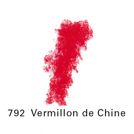 SEN PASTEL ECU PETIT 792VERMILLON CHINE NO 3