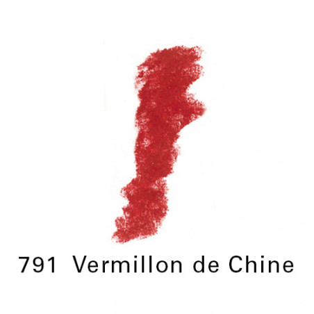 SEN PASTEL ECU PETIT 791VERMILLON CHINE NO 2