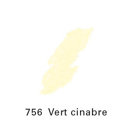 SEN PASTEL ECU PETIT 756 VERT CINABRE NO 7