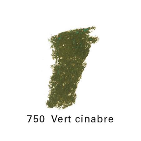 SEN PASTEL ECU PETIT 750 VERT CINABRE NO 1