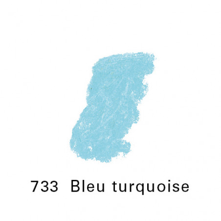 SEN PASTEL ECU PETIT 733 BLEU TURQUOISE NO4