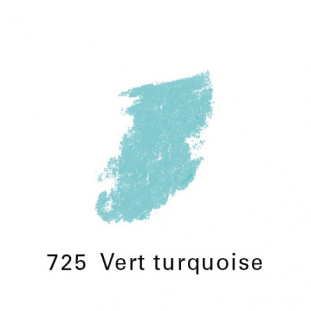 SEN PASTEL ECU PETIT 725 VERT TURQUOISE NO6