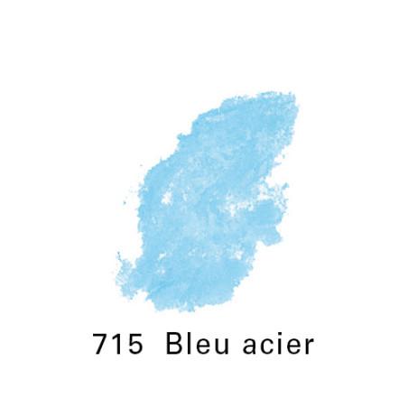 SEN PASTEL ECU PETIT 715 BLEU ACIER NO 6