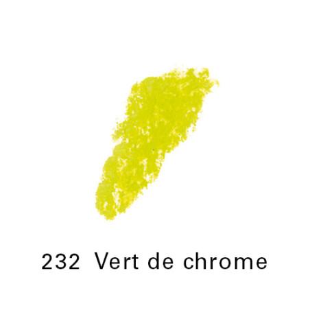 SEN PASTEL ECU PETIT 232 VERT DE CHROME