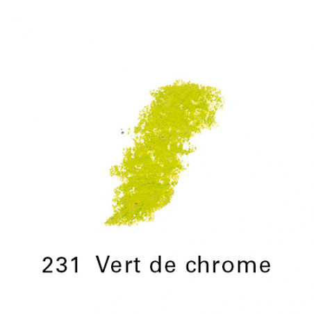 SEN PASTEL ECU PETIT 231 VERT DE CHROME