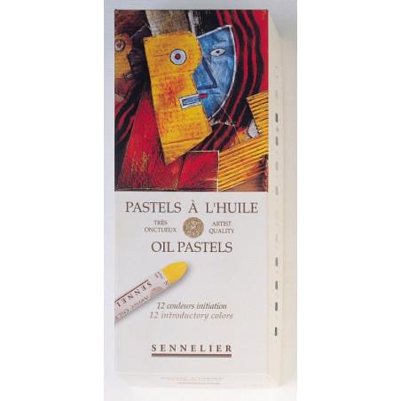 SENNELIER ETUI 12 PASTELS A HUILE INITIATION