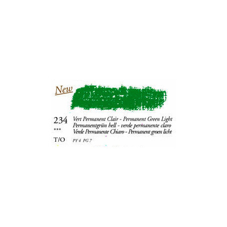 SEN PASTEL HUILE VERT PERMANENT CLAIR 38 ML
