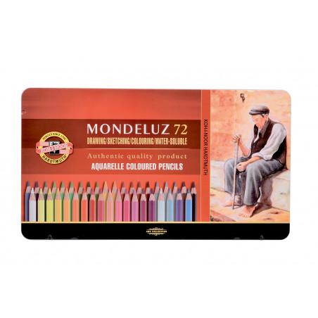 MONDELUZ CRAYON AQUARELLE BTE 72 CRAY