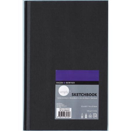 Livres de dessin Simply sketchbook