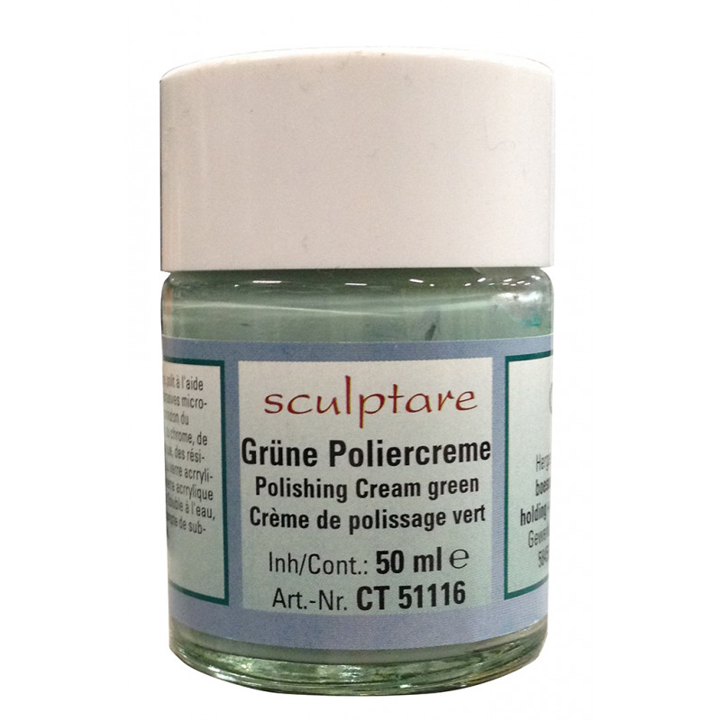 SCULPTARE CREME POLISSAGE VERTE 50ML