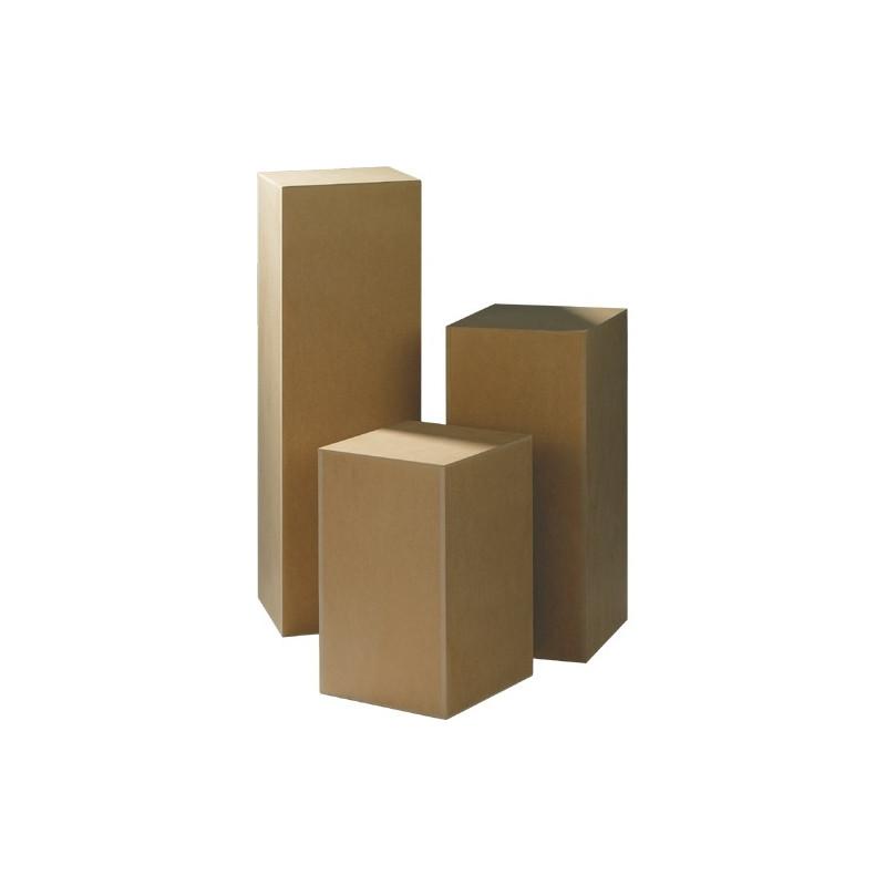Socles bois pour sculpture pi destal et tige en fer pour for Socle pour poele a bois