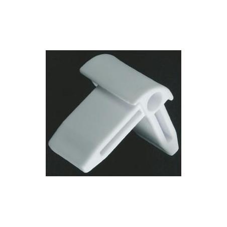 COIN PVC BLANC 2PC