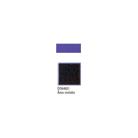 DOREE C-COLLE AME VIOLETTE 1.7MM 81X101.5CM 64921 NOIR
