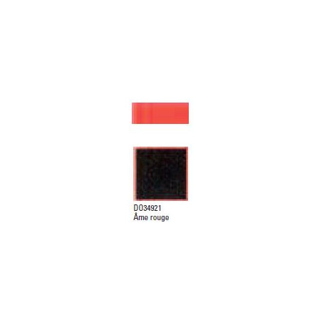 DOREE C-COLLE AME ROUGE 1.7MM 81X101.5CM 34921 NOIR