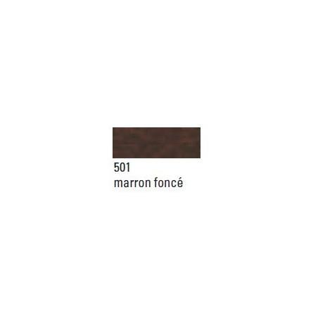CANSON CONTRECOLLE 1.5MM 60X80CM 501 MARRON FONCE