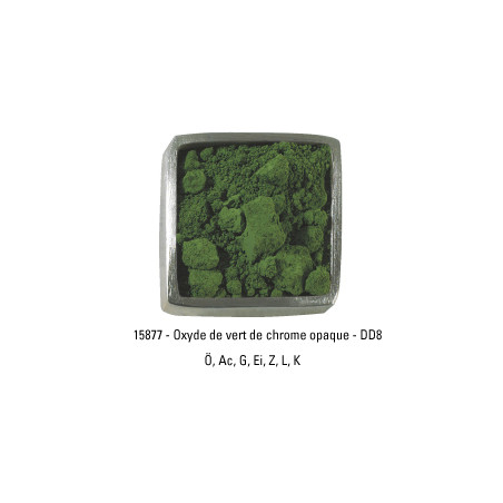 GUARDI PIGMENT 250G 15877 OXYDE VERT CHROME OPAQUE