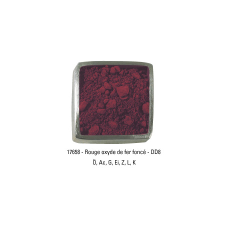 GUARDI PIGMENT 250G 17658 ROUGE  OXY FER