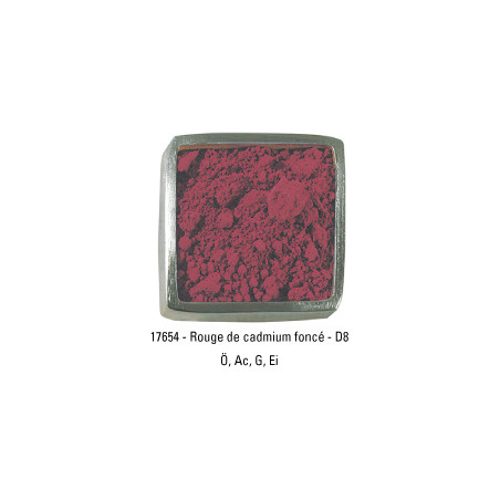 GUARDI PIGMENT 250G 17654 ROUGE  CADMIUM FONCE