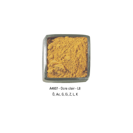 GUARDI PIGMENT 250G A4607 OCRE CLAIR