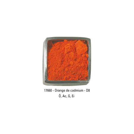 GUARDI PIGMENT 250G 17660 ORANGE CADMIUM