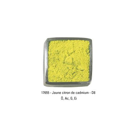 GUARDI PIGMENT 250G 17655 JAUNE CADMIUM CITRON