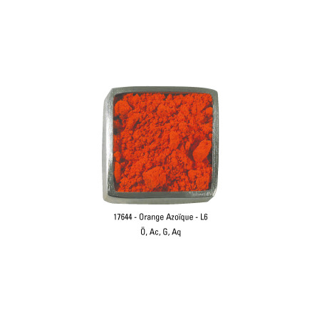 GUARDI PIGMENT 250G 17644 ORANGE AZO