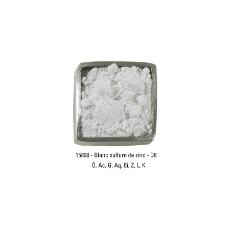 GUARDI PIGMENT 250G 15898 BLANC SULF. ZINC
