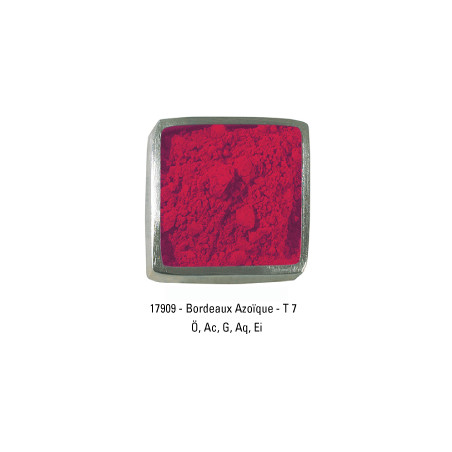 GUARDI PIGMENT 250G 17909 BORDEAUX AZO