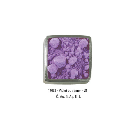 GUARDI PIGMENT 200G 17663 VIOLET OUTREMER