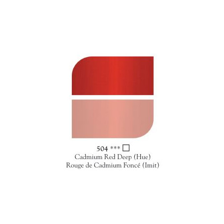 GEORGIAN HUILE FINE 225ML 504 ROUGE CADMIUM FONCE