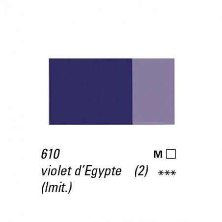 LB HUILE EXTRA FINE 40ML S2 610 VIOLET EGYPTIEN IMIT  -SUPPRIME-