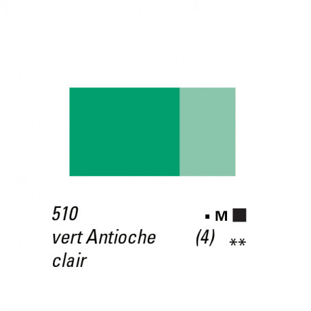 LB HUILE EXTRA FINE 40ML S4 510 VERT ANTIOCHE CLAIR -SUPPRIME-