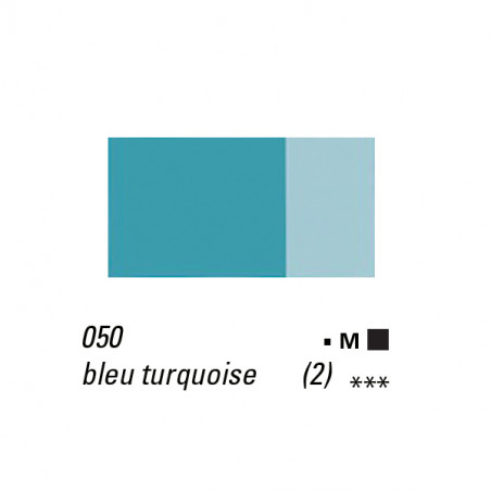 LB HUILE EXTRA FINE 40ML S2 050 BLEU TURQUOISE  -SUPPRIME-