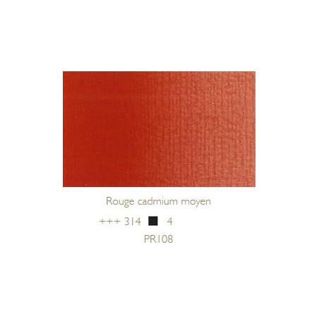 REMBRANDT HUILE EXTRA FINE 40ML S4 314 ROUGE CAD MOYEN