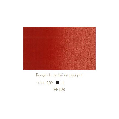 REMBRANDT HUILE EXTRA FINE 40ML S4 309 ROUGE CADPOURPRE