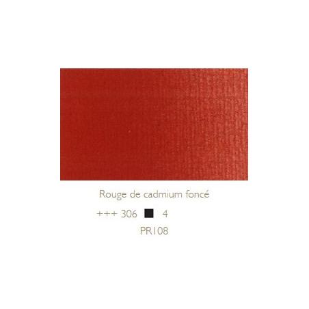 REMBRANDT HUILE EXTRA FINE 40ML S4 306 ROUGE CAD FONCE