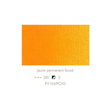 REMBRANDT HUILE EXTRA FINE 40ML S3 285 JAUNE PERMANENT FONCE