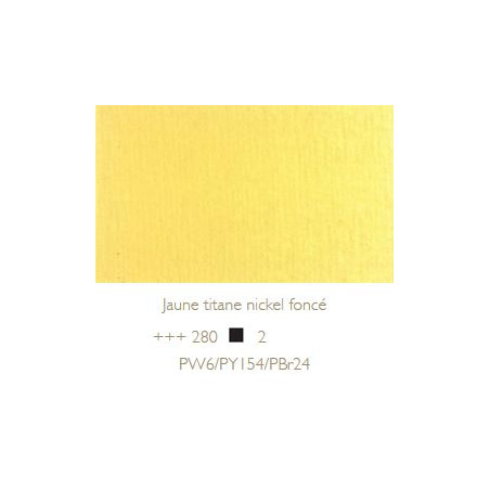 REMBRANDT HUILE EXTRA FINE 40ML S2 280 JAUNE TITANE NICKEL FONCE