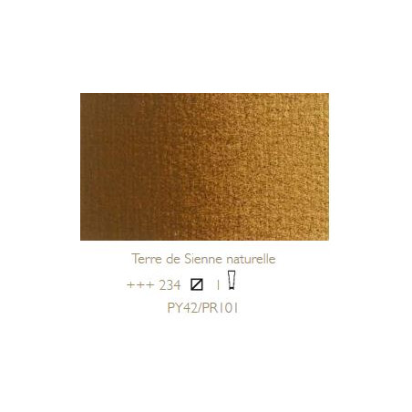 REMBRANDT HUILE EXTRA FINE 40ML S1 234 TERRE SIENNE NATURELLE