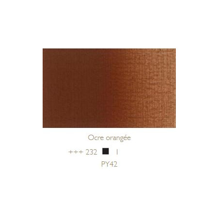 REMBRANDT HUILE EXTRA FINE 40ML S1 232 OCRE ORANGEE