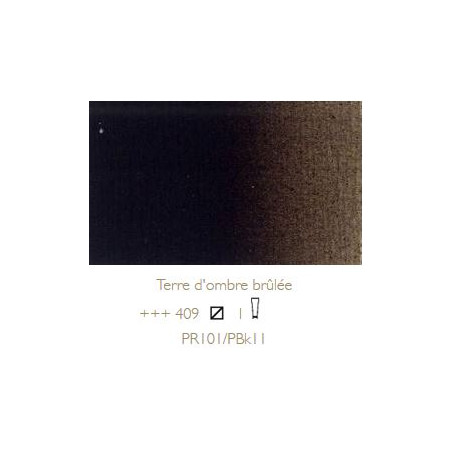 REMBRANDT HUILE EXTRA FINE 150ML S1 409 TERRE OMBRE BRULEE