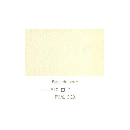 REMBRANDT HUILE EXTRA FINE 40ML S3 817 BLANC NACRE