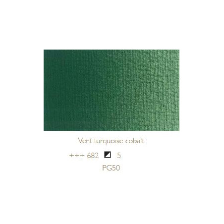 REMBRANDT HUILE EXTRA FINE 40ML S5 682 VERT COBALT TURQUOISE