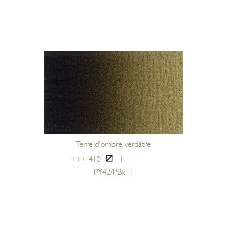 REMBRANDT HUILE EXTRA FINE 40ML S1 410 TERRE OMBRE VERT