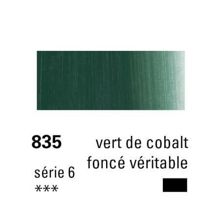SENNELIER HUILE EXTRA FINE 40ML S6 835 VERT COBALT FONCE VERIT